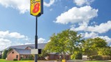 "Super 8 Dodgeville Exterior. Images powered by <a href='http://web.iceportal.com'  target=""_blank"">Ice Portal</a>."