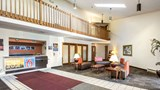 "Motel 6 Saukville Lobby. Images powered by <a href='http://web.iceportal.com'  target=""_blank"">Ice Portal</a>."