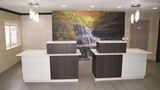 "La Quinta Inn Peru Lobby. Images powered by <a href='http://web.iceportal.com'  target=""_blank"">Ice Portal</a>."