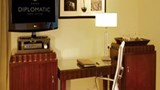 "Diplomatic Hotel Room. Images powered by <a href='http://www.leonardo.com'  target=""_blank"">Leonardo</a>."