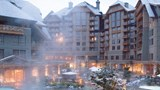 "Four Seasons Resort Whistler Exterior. Images powered by <a href='http://www.leonardo.com'  target=""_blank"">Leonardo</a>."