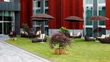 "H2C Hotel Milanofiori Recreation. Images powered by <a href='http://www.leonardo.com'  target=""_blank"">Leonardo</a>."