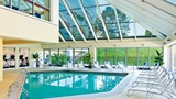 "Sheraton Detroit Novi Hotel Pool. Images powered by <a href='http://www.leonardo.com'  target=""_blank"">Leonardo</a>."