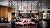 "The Gwen, a Luxury Collection Hotel Lobby. Images powered by <a href='http://www.leonardo.com'  target=""_blank"">Leonardo</a>."
