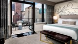 "The Gwen, a Luxury Collection Hotel Suite. Images powered by <a href='http://www.leonardo.com'  target=""_blank"">Leonardo</a>."