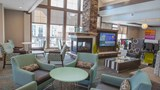 "Residence Inn Decatur/Forsyth Lobby. Images powered by <a href='http://www.leonardo.com'  target=""_blank"">Leonardo</a>."