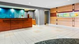"SpringHill Suites Wheeling Lobby. Images powered by <a href='http://www.leonardo.com'  target=""_blank"">Leonardo</a>."