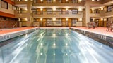 "Holiday Inn Hotel & Suites Pool. Images powered by <a href='http://www.leonardo.com'  target=""_blank"">Leonardo</a>."