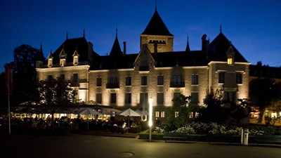 Le Chateau d'Ouchy Hotel