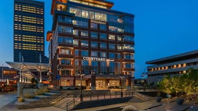 Courtyard Buffalo Downtown Canalside