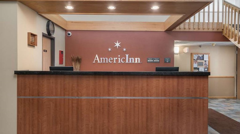 "AmericInn by Wyndham Bemidji Lobby. Images powered by <a href='http://web.iceportal.com'  target=""_blank"">Ice Portal</a>."