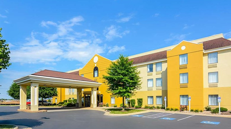 "Comfort Inn Shenandoah Exterior. Images powered by <a href='http://web.iceportal.com'  target=""_blank"">Ice Portal</a>."