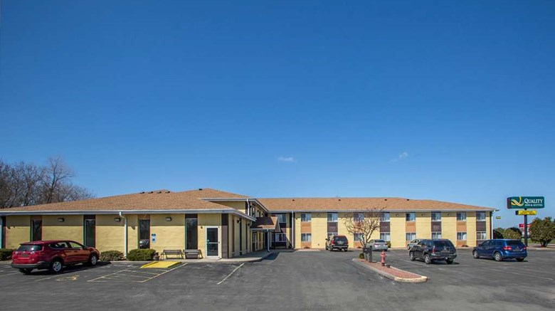 "Quality Inn & Suites Exterior. Images powered by <a href='http://web.iceportal.com'  target=""_blank"">Ice Portal</a>."