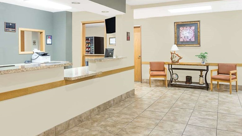 "Super 8 Darlington Lobby. Images powered by <a href='http://web.iceportal.com'  target=""_blank"">Ice Portal</a>."