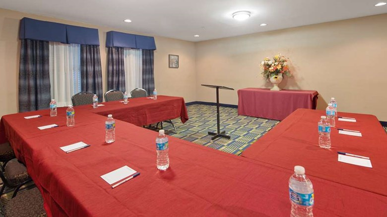 "SureStay Plus Hotel By BW Roanoke Rapids Meeting. Images powered by <a href='http://web.iceportal.com'  target=""_blank"">Ice Portal</a>."