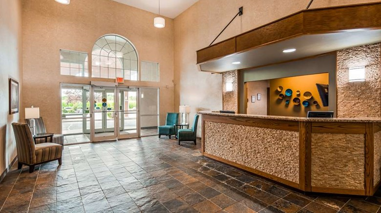 "Best Western Wittenberg Inn Lobby. Images powered by <a href='http://web.iceportal.com'  target=""_blank"">Ice Portal</a>."