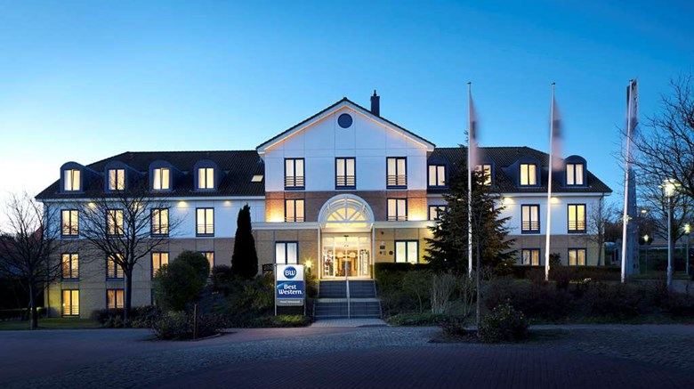 "Best Western Hotel Helmstedt Exterior. Images powered by <a href='http://web.iceportal.com'  target=""_blank"">Ice Portal</a>."