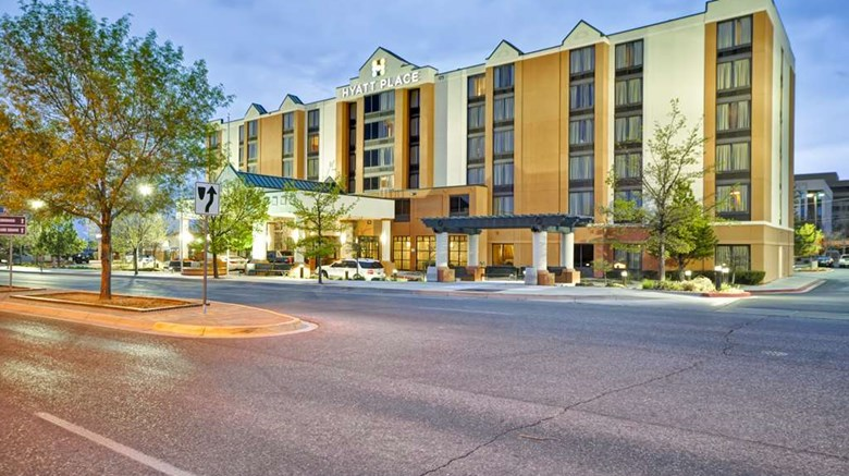 "Hyatt Place Albuquerque/Uptown Exterior. Images powered by <a href='http://web.iceportal.com'  target=""_blank"">Ice Portal</a>."