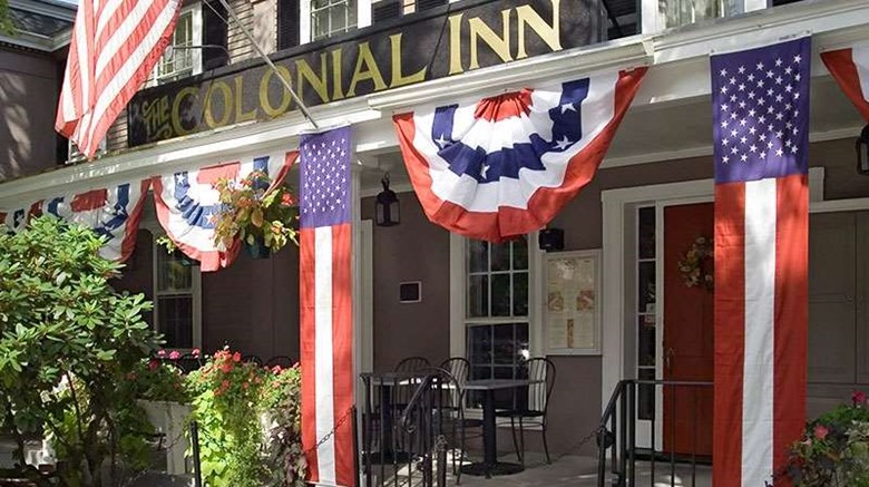 "Concord's Colonial Inn Exterior. Images powered by <a href='http://web.iceportal.com'  target=""_blank"">Ice Portal</a>."