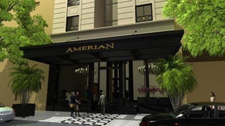 "Amerian Executive Hotel Cordoba Exterior. Images powered by <a href=&#39;http://web.iceportal.com&#39;  target=""_blank"">Ice Portal</a>."