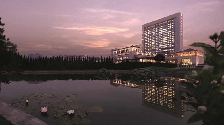 "Shangri-La Hotel, Xian Exterior. Images powered by <a href='http://web.iceportal.com'  target=""_blank"">Ice Portal</a>."