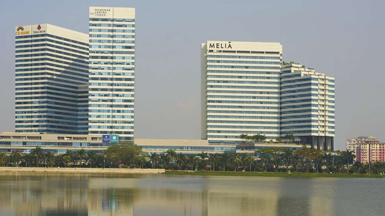 "Melia Yangon Exterior. Images powered by <a href='http://web.iceportal.com'  target=""_blank"">Ice Portal</a>."