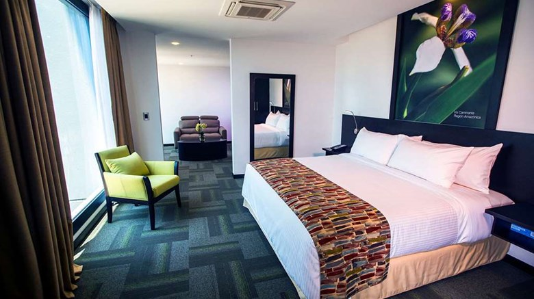 "Wyndham Quito Airport Suite. Images powered by <a href='http://web.iceportal.com'  target=""_blank"">Ice Portal</a>."