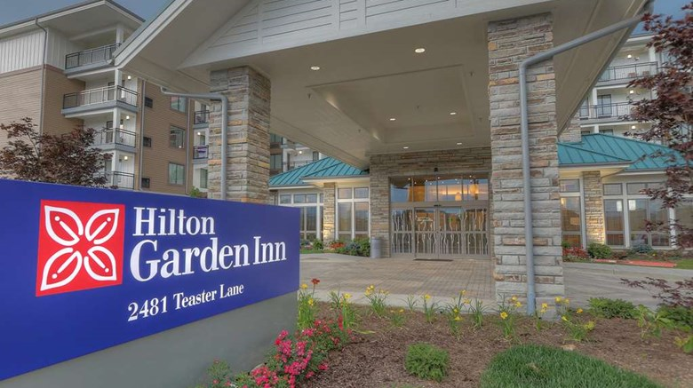 "Hilton Garden Inn Pigeon Forge Exterior. Images powered by <a href='http://web.iceportal.com'  target=""_blank"">Ice Portal</a>."
