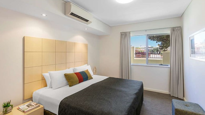 "Waldorf Geraldton Serviced Apartments Room. Images powered by <a href='http://web.iceportal.com'  target=""_blank"">Ice Portal</a>."