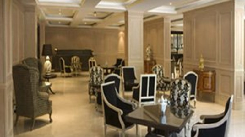 "Diplomatic Hotel Restaurant. Images powered by <a href='http://www.leonardo.com'  target=""_blank"">Leonardo</a>."