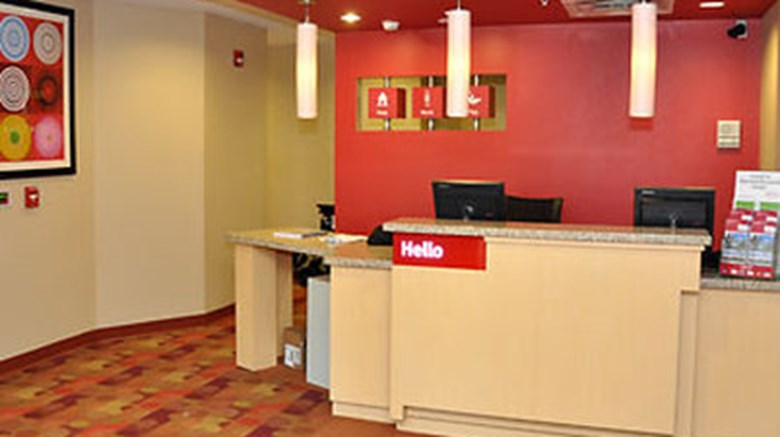 "TownePlace Suites Winchester Lobby. Images powered by <a href='http://www.leonardo.com'  target=""_blank"">Leonardo</a>."