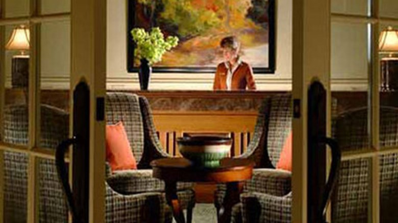 "The Lodge at Woodloch Lobby. Images powered by <a href='http://www.leonardo.com'  target=""_blank"">Leonardo</a>."