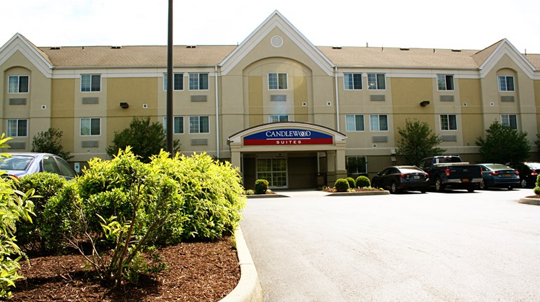"Candlewood Suites Harrisonburg Exterior. Images powered by <a href='http://www.leonardo.com'  target=""_blank"">Leonardo</a>."