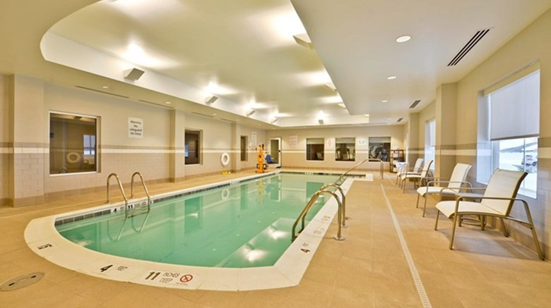 "Holiday Inn Express and Suites Utica Pool. Images powered by <a href='http://www.leonardo.com'  target=""_blank"">Leonardo</a>."