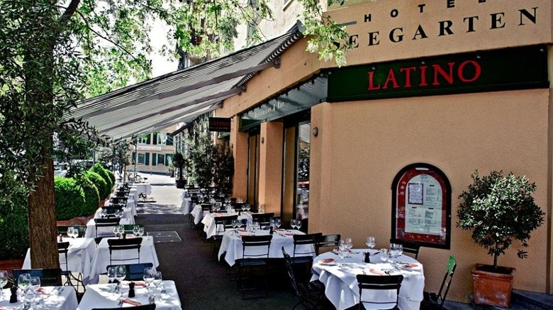 "Hotel Seegarten Restaurant. Images powered by <a href='http://www.leonardo.com'  target=""_blank"">Leonardo</a>."