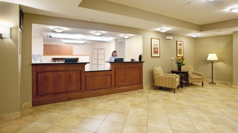 "Candlewood Suites Sumter Lobby. Images powered by <a href='http://www.leonardo.com'  target=""_blank"">Leonardo</a>."