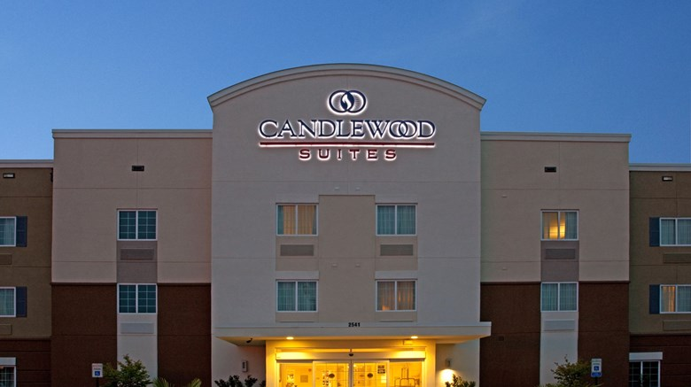 "Candlewood Suites Sumter Exterior. Images powered by <a href='http://www.leonardo.com'  target=""_blank"">Leonardo</a>."