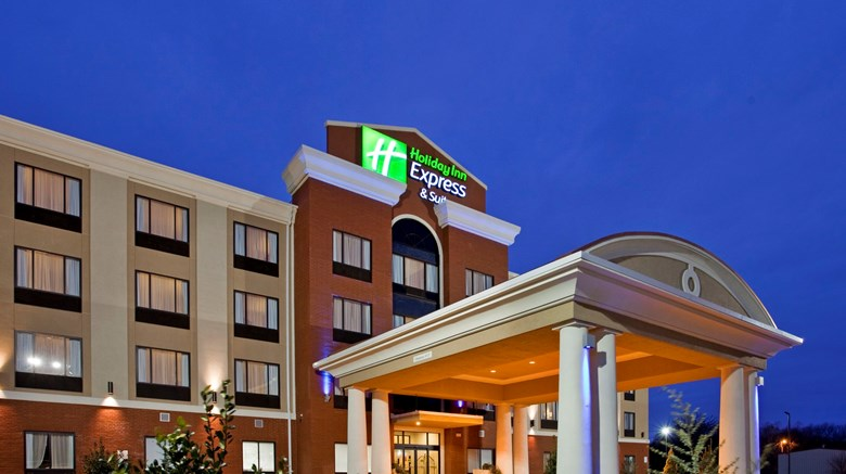 "Holiday Inn Express & Suites North Exterior. Images powered by <a href='http://www.leonardo.com'  target=""_blank"">Leonardo</a>."