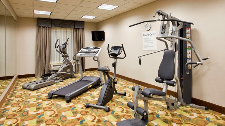 "Holiday Inn Express & Suites North Health Club. Images powered by <a href='http://www.leonardo.com'  target=""_blank"">Leonardo</a>."