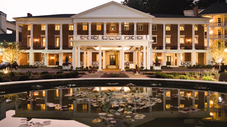 "Omni Bedford Springs Resort & Spa Exterior. Images powered by <a href='http://www.leonardo.com'  target=""_blank"">Leonardo</a>."