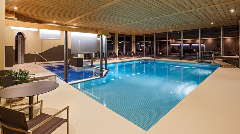 "Beausite Park Hotel Pool. Images powered by <a href='http://www.leonardo.com'  target=""_blank"">Leonardo</a>."