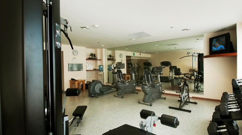 "Fiesta Inn Cuernavaca Health Club. Images powered by <a href='http://www.leonardo.com'  target=""_blank"">Leonardo</a>."