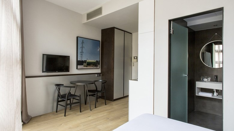 "Apartamentos Allada Room. Images powered by <a href='http://www.leonardo.com'  target=""_blank"">Leonardo</a>."