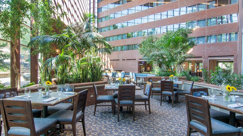 "Omni Charlottesville Hotel Restaurant. Images powered by <a href='http://www.leonardo.com'  target=""_blank"">Leonardo</a>."