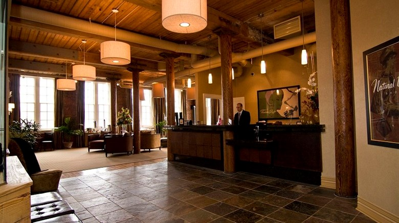 "Craddock Terry Hotel and Event Center Lobby. Images powered by <a href='http://www.leonardo.com'  target=""_blank"">Leonardo</a>."