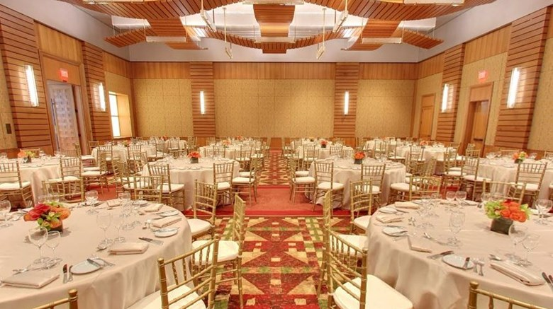 "Four Seasons Resort Whistler Ballroom. Images powered by <a href='http://www.leonardo.com'  target=""_blank"">Leonardo</a>."
