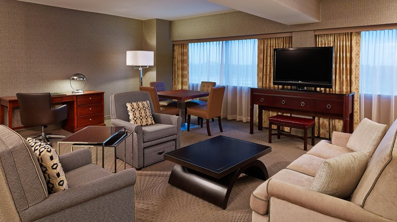 "Sheraton Detroit Novi Hotel Suite. Images powered by <a href='http://www.leonardo.com'  target=""_blank"">Leonardo</a>."