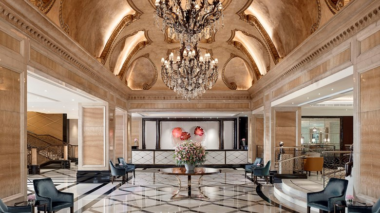 "The Langham, Hong Kong Lobby. Images powered by <a href='http://www.leonardo.com'  target=""_blank"">Leonardo</a>."