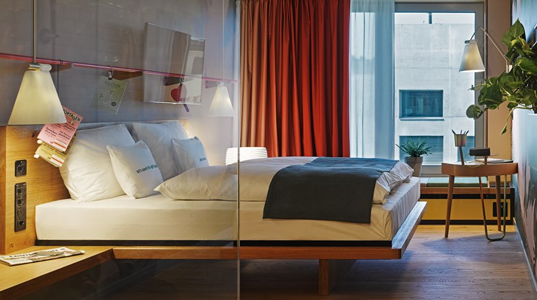 "25Hours Hotel Langstrasse Room. Images powered by <a href='http://www.leonardo.com'  target=""_blank"">Leonardo</a>."