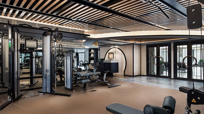 "The Langham, Hong Kong Health Club. Images powered by <a href='http://www.leonardo.com'  target=""_blank"">Leonardo</a>."